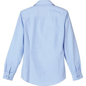 Imprinted Tulare Oxford Long Sleeve Shirt by TRIMARK