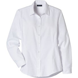 Printed Tulare Oxford Long Sleeve Shirt by TRIMARK