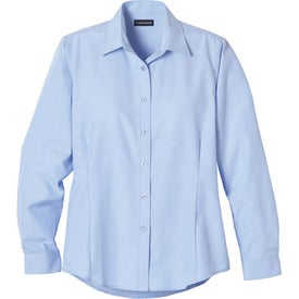 Monogrammed Tulare Oxford Long Sleeve Shirt by TRIMARK