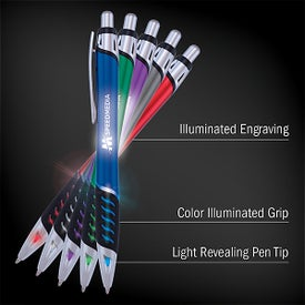 Luminate Techno Click Pens