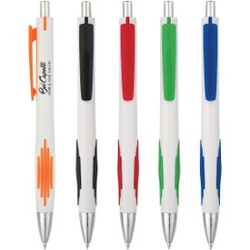 Striped-Grip Pen