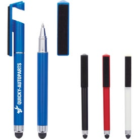 Stylus Pens with Phone Stand and Screen Cleaners