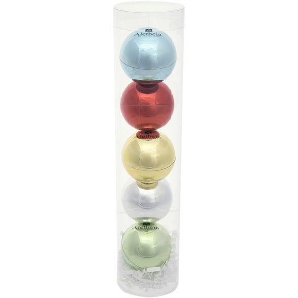 Group Photo 5-Piece Metallic Lip Moisturizer Ball Tube Gift Set