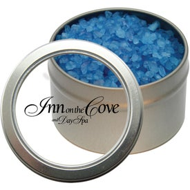 Candy Window Tin with Spa Bath Crystals