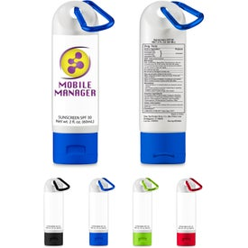 SPF 30 Sunscreen with Carabiner (2 Oz.)