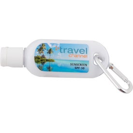 Sunscreen Lotion SPF30 with Carabiner (2 Oz.)