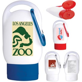 Sunscreen SPF 30 with Carabiner