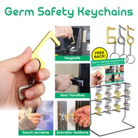 Germ Safety Keychain