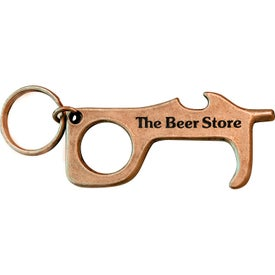 Custom Shape Touchless Safety Tool with Bottle Opener