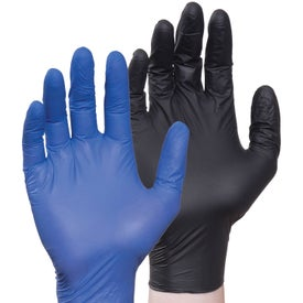 Nitrile Gloves (Black and Blue)