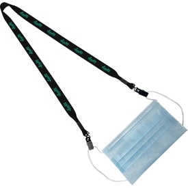 Polyester Mask Keeper Lanyards