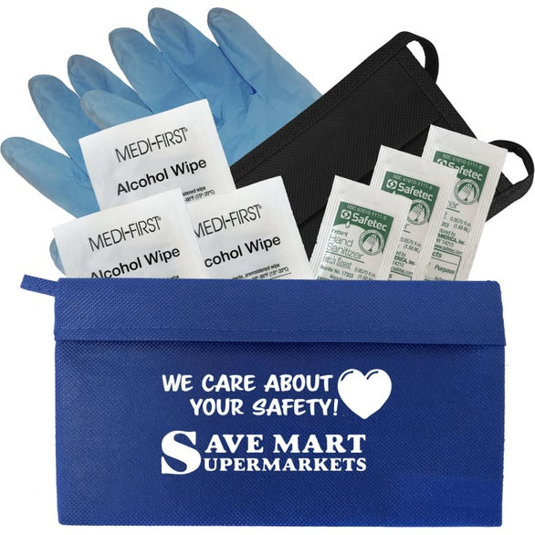 Royal Blue QuickCare Complete Personal Protection Kit
