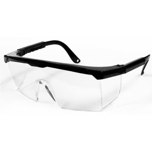 Black / Clear Safety Glasses