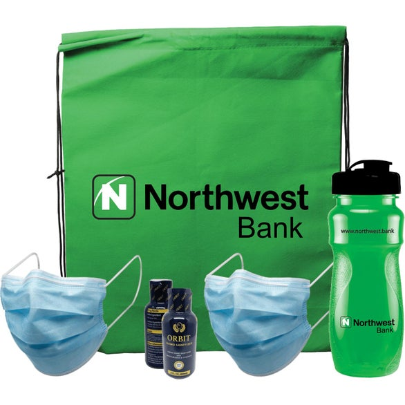 Kelly Green Traveler PPE Bundle