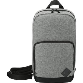 Graphite Deluxe Recycled Sling Backpacks