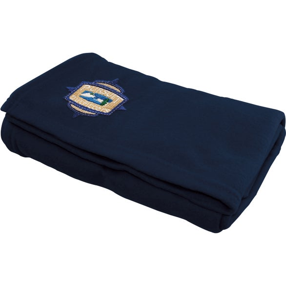 Navy Recycled PET Blanket