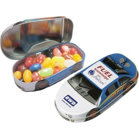Race Car Tins with Jelly Belly Beans