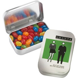 Rectangular Tins with Gourmet Jelly Beans