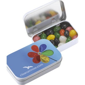 Rectangular Tins with Jelly Beans