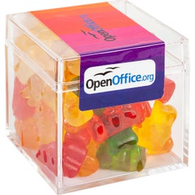 Sweet Boxes with Gummy Bears