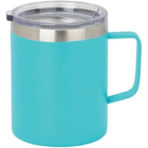 Teal Double Wall Vacuum Coffee Cup