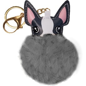 Dog Super Plush Keyrings