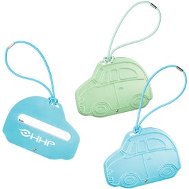 Car Shape Luggage Tags