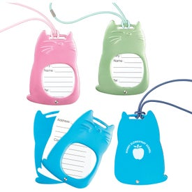 Cat Shape Luggage Tags