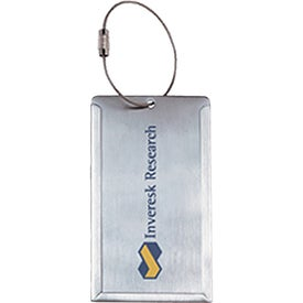 Stainless Steel Luggage Tags (4