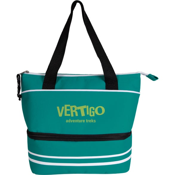 Teal Bimini Dual Compartment Lunch Cooler