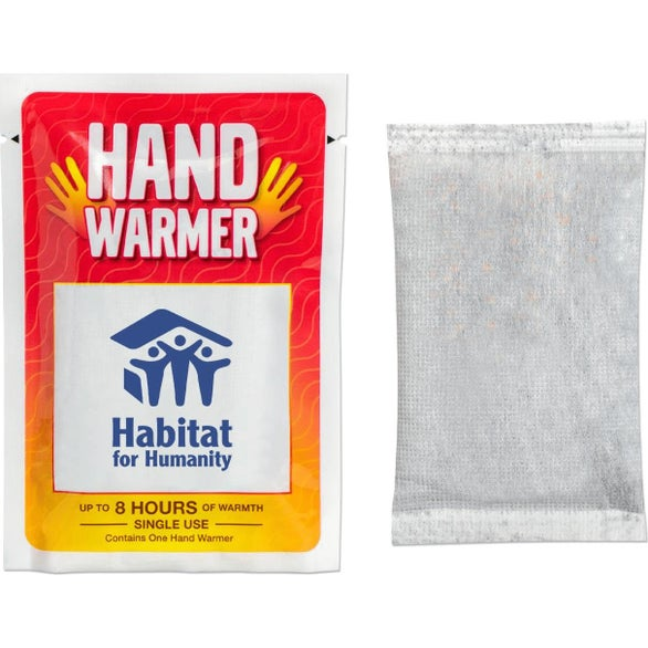 White Hand Warmer Pack