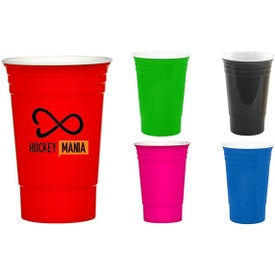 Double Insulated Plastic Gameday Travel Cups (16 Oz.)