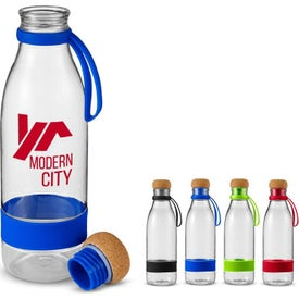 Restore Tritan Water Bottles with Cork Lid (22 Oz.)