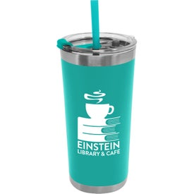 Stainless Steel Insulated Straw Tumblers (18 Oz.)