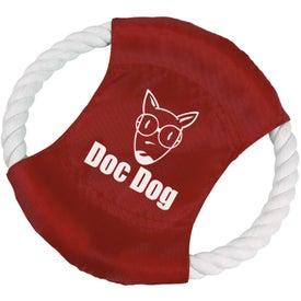 Monogrammed Buster Dog Tug Ring