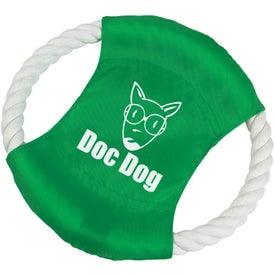 Custom Buster Dog Tug Ring