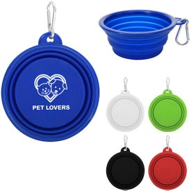 "Collapsible Pet Bowl (5.125"" Dia.)"