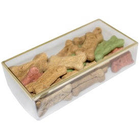 Dog Bones in Gold Rimmed Box