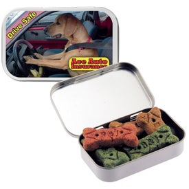 Dog Bones in Large Tin