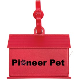 Dog House Waste Bag Dispenser for Marketing