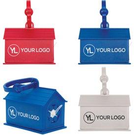 Branded Dog House Waste Bag Dispenser
