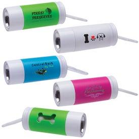 Light Up Waste Bag Dispenser for Customization