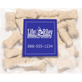 Mini Dog Bones in Bag with Square Magnet (0.02
