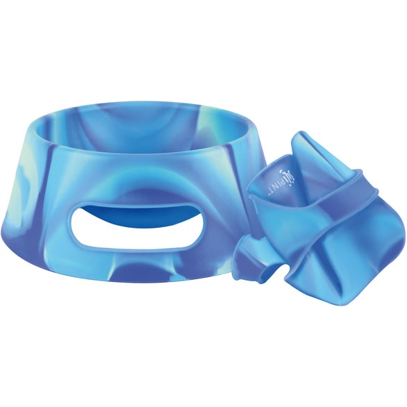 Arctic Sky Silipint Aqua-Fur Dog Bowl