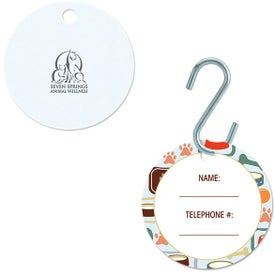 Small Circle Pet ID Tag