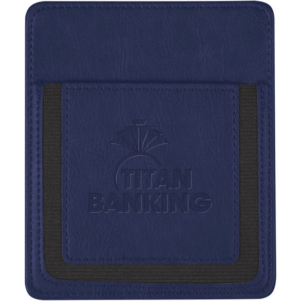 Navy Blue Handy Phone Pocket
