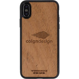 Mahogany Wood Phone Case X