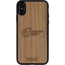 Walnut Wood Phone Case X