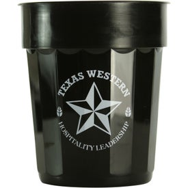 Fluted Stadium Cup (16 Oz., Ink Imprint)