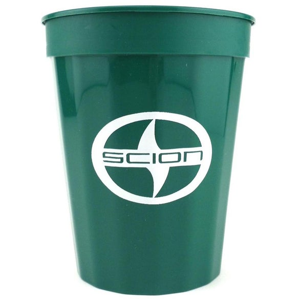 Green Fluted Stadium Cup